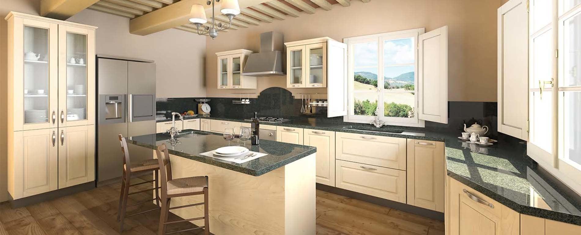 Cucine Classiche #90733B 1900 770 Arredamento Cucine Moderne E Classiche