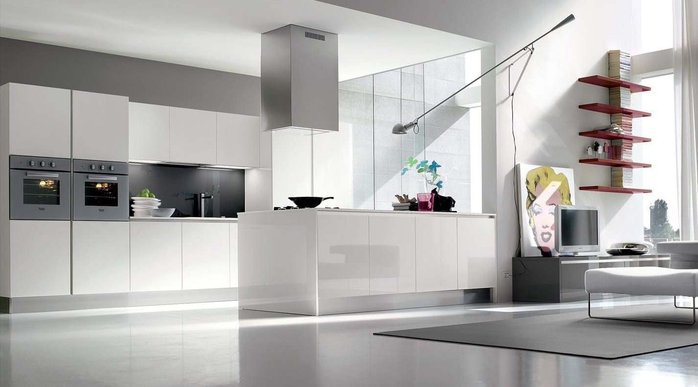 Modern Kitchen One Lucida | PG Furniture Kitchens in Lucca, Tuscany ...