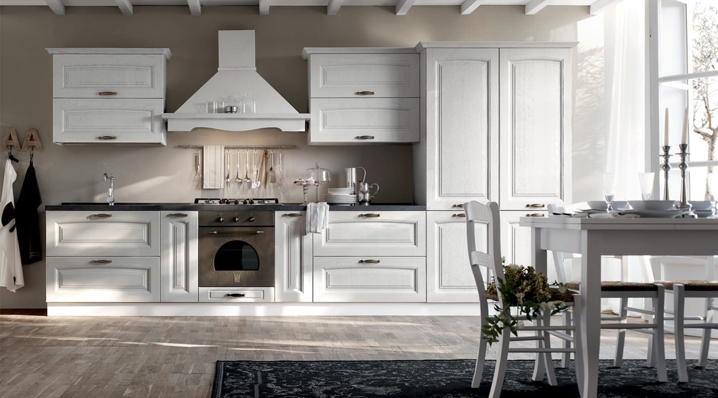 Classic Kitchen Country | PG Furniture Kitchens in Lucca, Tuscany, Italy