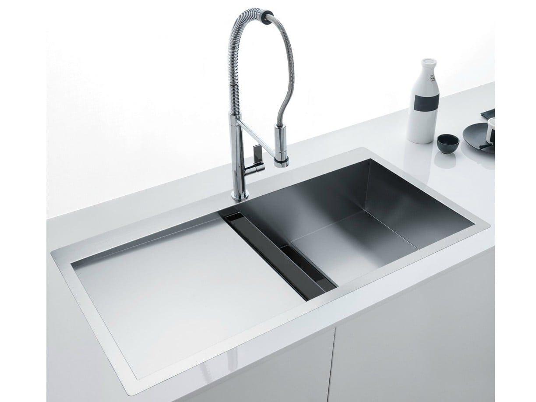 I lavelli quante tipologie esistono scopriamolo insieme - Lavello cucina sottotop ...