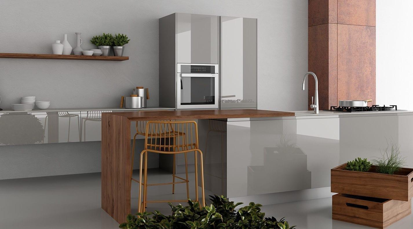 Cucina moderna jay pg arredamenti lucca for P g arredamenti