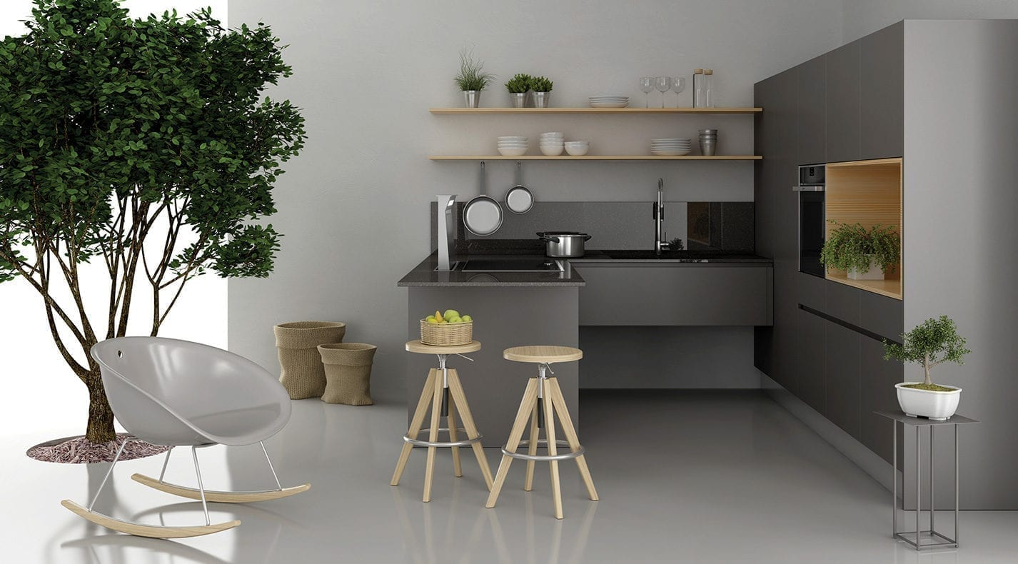 Modern kitchen one opaca pg furniture kitchens in lucca tuscany italy
