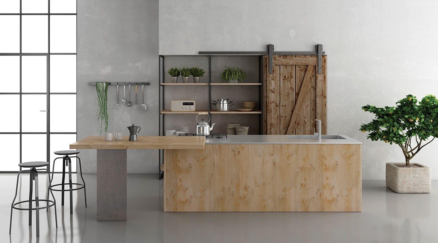 Cucina Moderna ThREE | PG Arredamenti Lucca